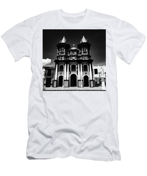 Replica Church In El Penol Men's T-Shirt (Athletic Fit)