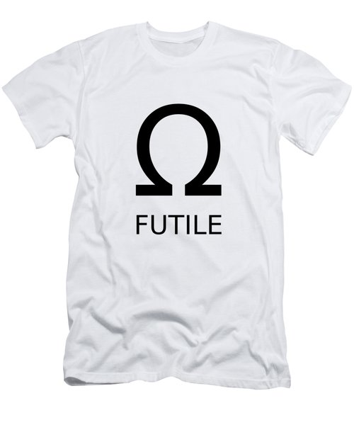 Resistance Is Futile Men's T-Shirt (Athletic Fit)