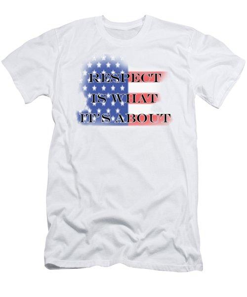 Respect Men's T-Shirt (Athletic Fit)
