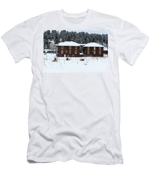 Resting Elk - 9131 Men's T-Shirt (Athletic Fit)
