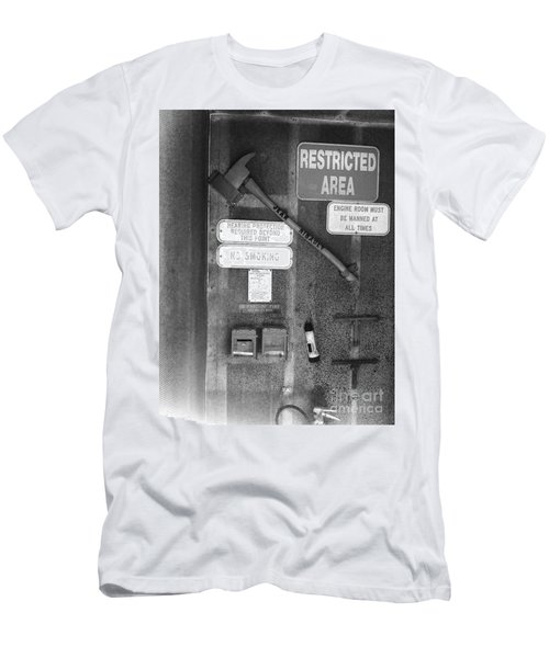 Restricted Area Men's T-Shirt (Athletic Fit)
