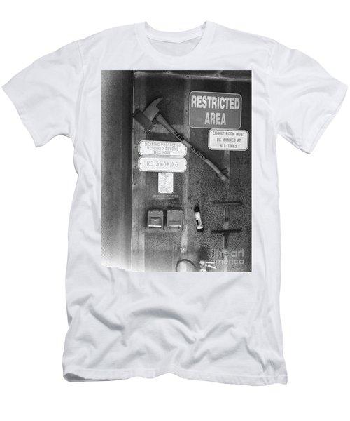Restricted Area Men's T-Shirt (Slim Fit)