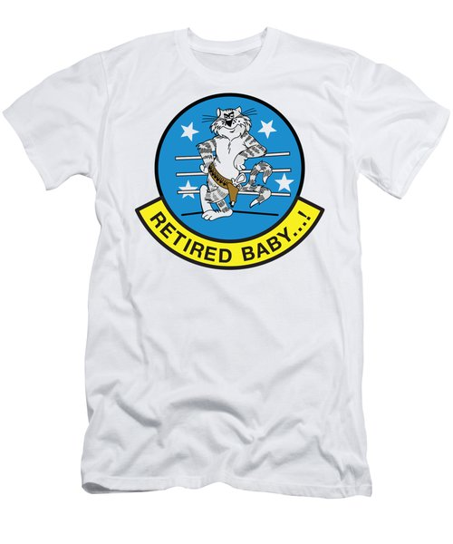 Retired Baby - Tomcat Men's T-Shirt (Athletic Fit)