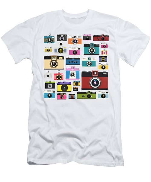 Retro Camera Men's T-Shirt (Athletic Fit)
