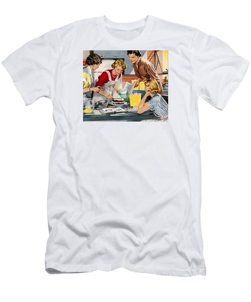 Retro Home Men's T-Shirt (Athletic Fit)