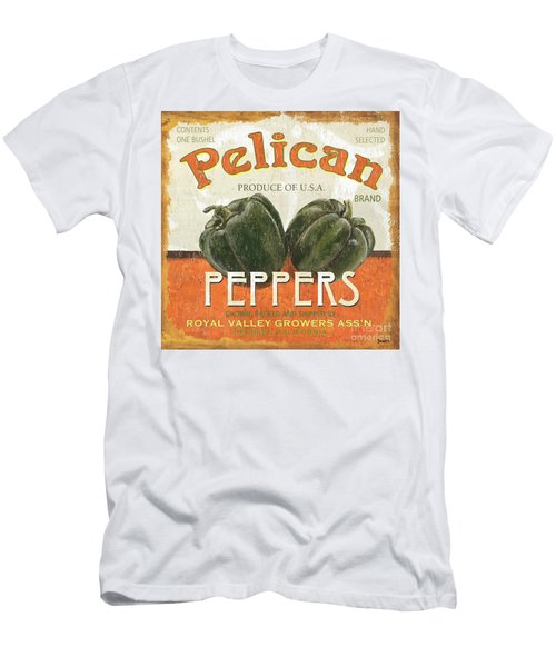 Retro Veggie Labels 3 Men's T-Shirt (Athletic Fit)