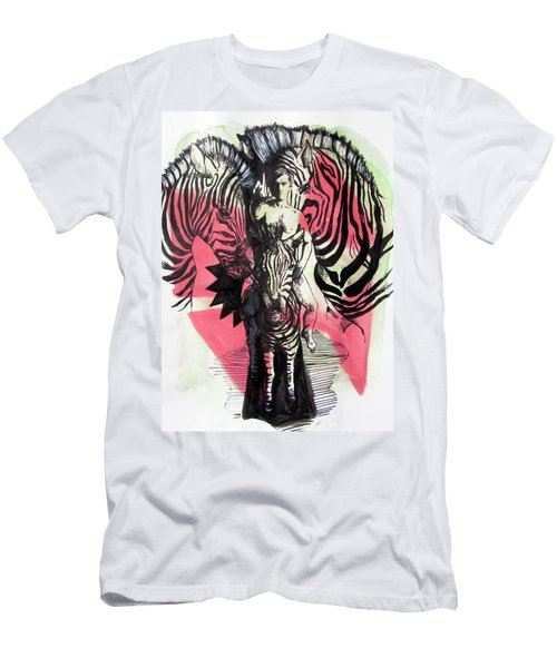 Return Of Zebra Boy Men's T-Shirt (Athletic Fit)