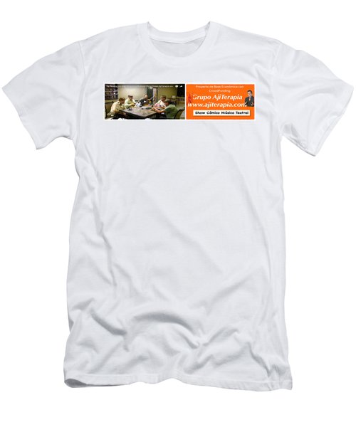 Revista Ajiterapia Men's T-Shirt (Athletic Fit)