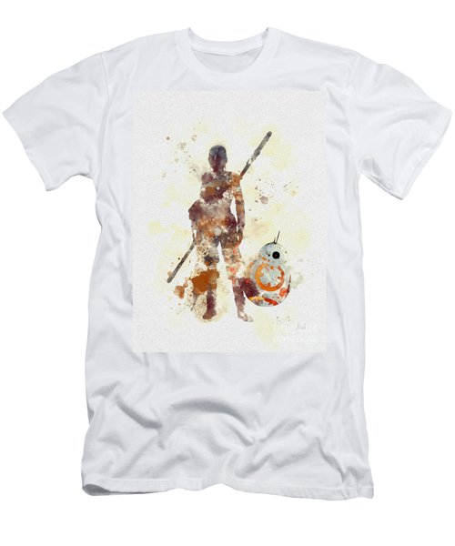 Rey And Bb8 Men's T-Shirt (Athletic Fit)