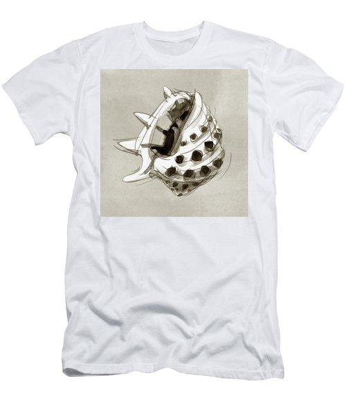 Ricinus Drupe - Front Men's T-Shirt (Athletic Fit)