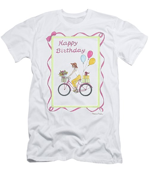 Ride In Style - Happy Birthday Men's T-Shirt (Athletic Fit)