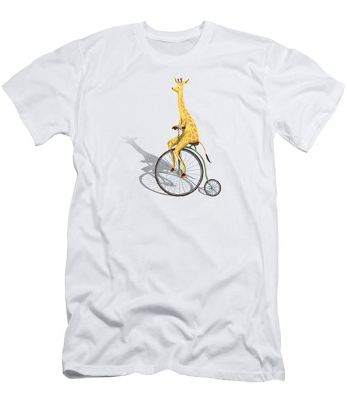 Ride My Bike Men's T-Shirt (Athletic Fit)