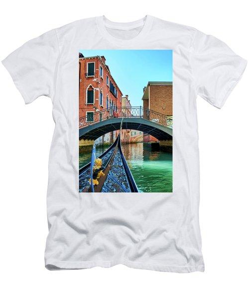Ride On Venetian Roads Men's T-Shirt (Athletic Fit)