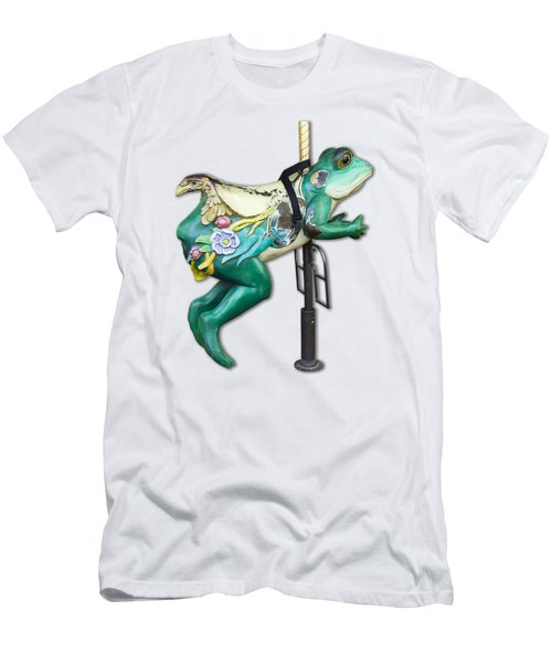 Ride The Frog Men's T-Shirt (Slim Fit) by Bob Slitzan