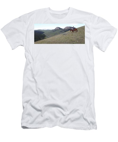 Ridge Riding Men's T-Shirt (Athletic Fit)