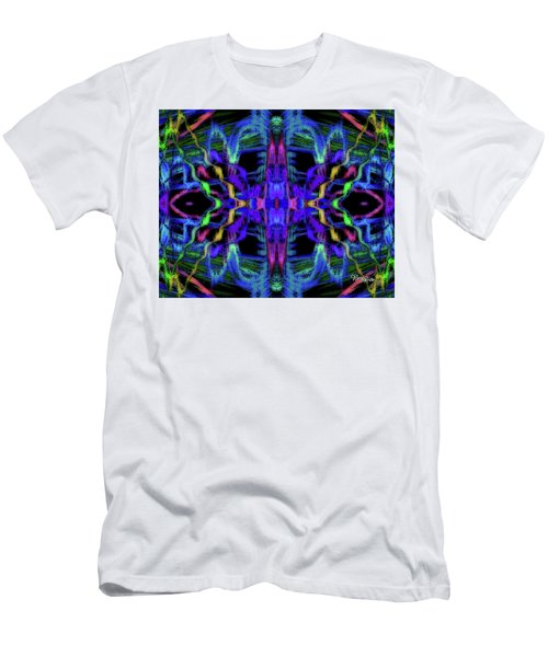 Rings Of Fire Dopamine #156 Men's T-Shirt (Slim Fit) by Barbara Tristan