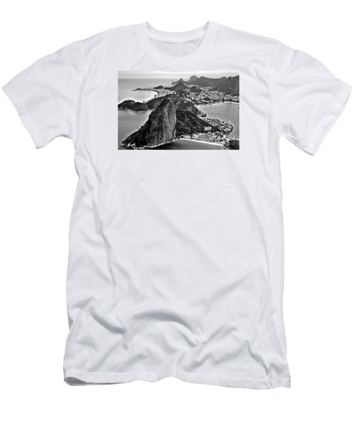 Rio De Janeiro - Sugar Loaf, Corcovado And Baia De Guanabara Men's T-Shirt (Athletic Fit)