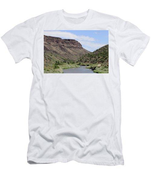 Rio Grande Del Norte Men's T-Shirt (Athletic Fit)