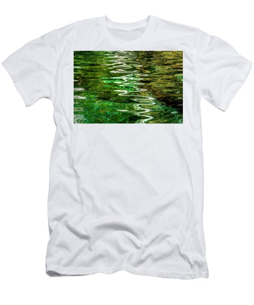 Ripple Paintings Men's T-Shirt (Athletic Fit)