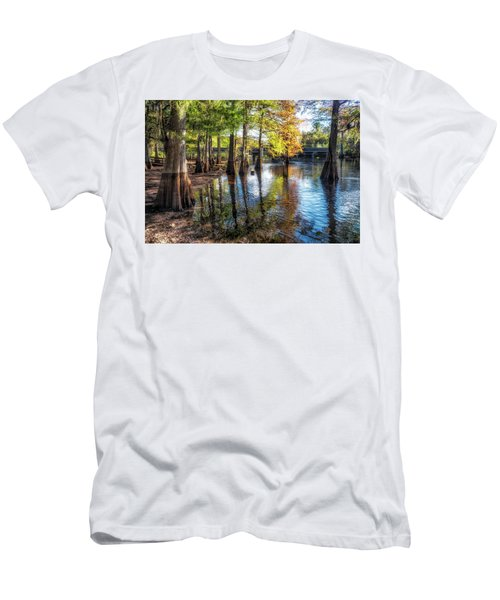 River Eeriness Men's T-Shirt (Athletic Fit)
