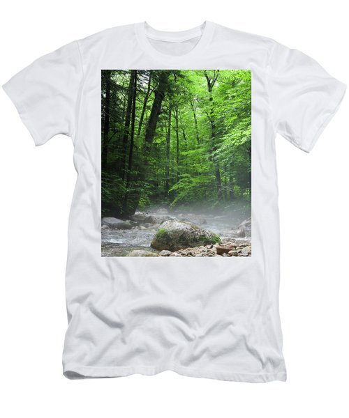 River Mist Men's T-Shirt (Athletic Fit)