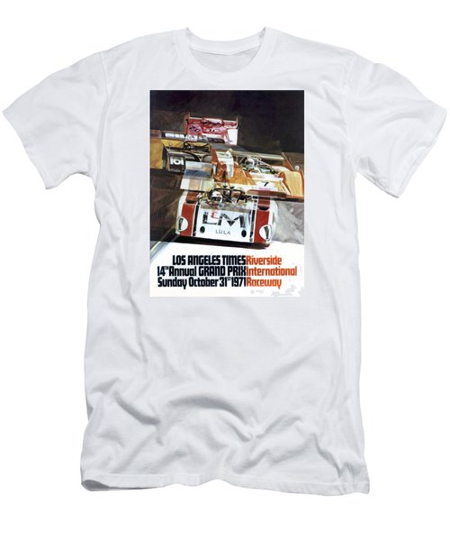 Riverside Can-am Men's T-Shirt (Slim Fit) by Peter Chilelli