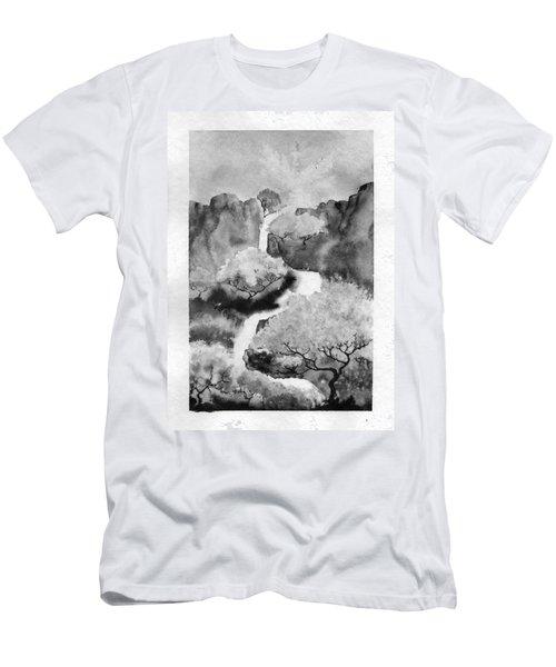 Riviere Celeste Men's T-Shirt (Athletic Fit)