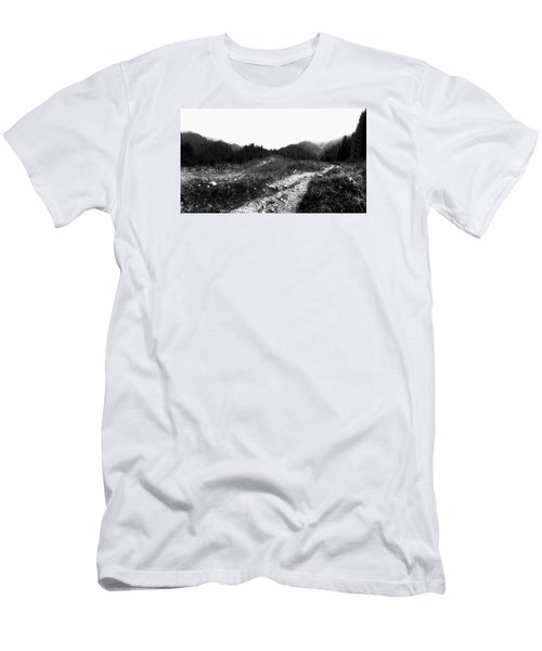 Road Men's T-Shirt (Slim Fit) by Hayato Matsumoto