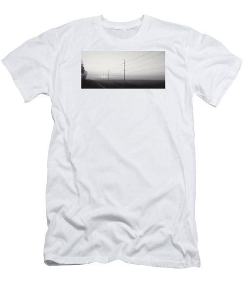 Road To Nowhere Men's T-Shirt (Slim Fit) by Sarah Boyd