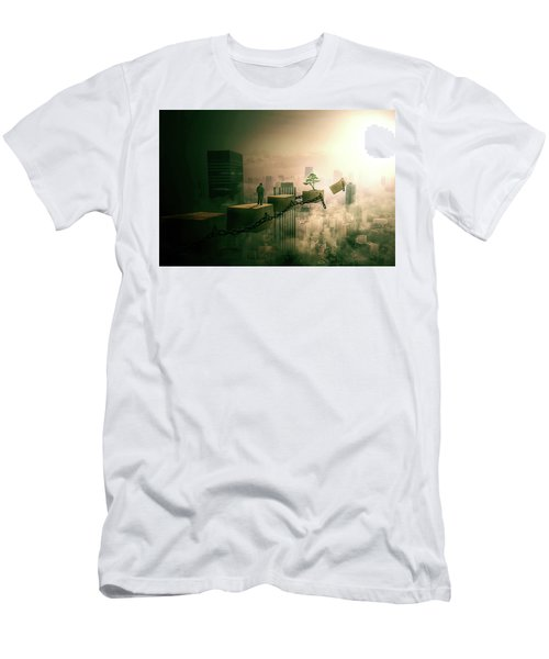 Men's T-Shirt (Slim Fit) featuring the digital art Road To Recovery  by Nathan Wright