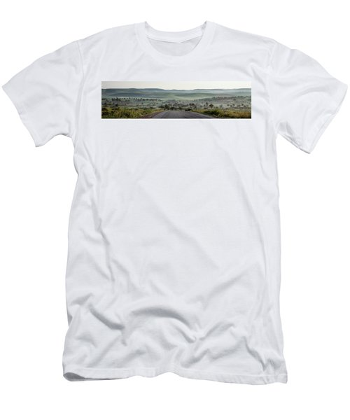 Road To The Forest Men's T-Shirt (Slim Fit) by Yoel Koskas
