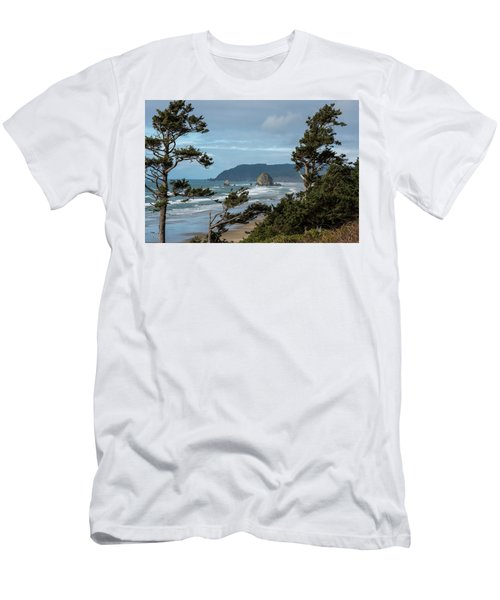 Roadside View Men's T-Shirt (Athletic Fit)