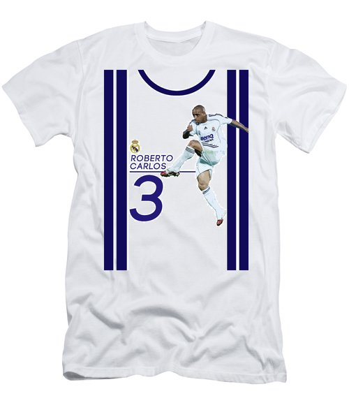Roberto Carlos Men's T-Shirt (Slim Fit) by Semih Yurdabak