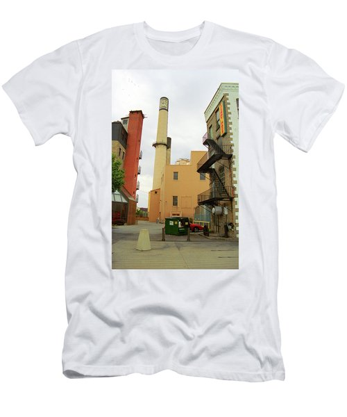 Rochester, Ny - Behind The Bar And Factory 2005 Men's T-Shirt (Slim Fit) by Frank Romeo