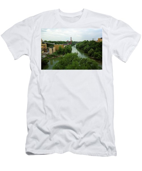 Rochester, Ny - Genesee River 2005 Men's T-Shirt (Slim Fit) by Frank Romeo