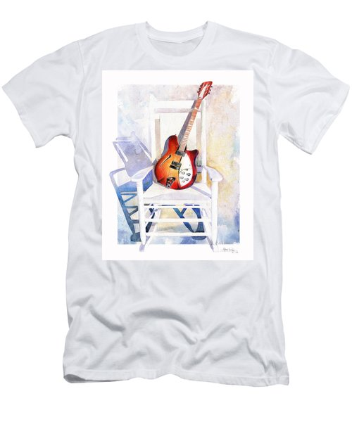Men's T-Shirt (Athletic Fit) featuring the painting Rock On by Andrew King