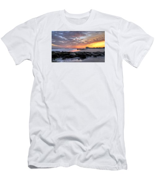 Rock On Men's T-Shirt (Slim Fit) by John Loreaux