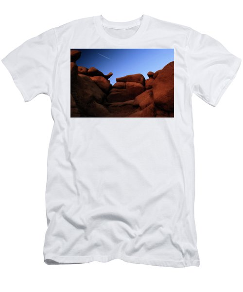 Rocks And Sky At Goblin Valley  Utah Men's T-Shirt (Athletic Fit)