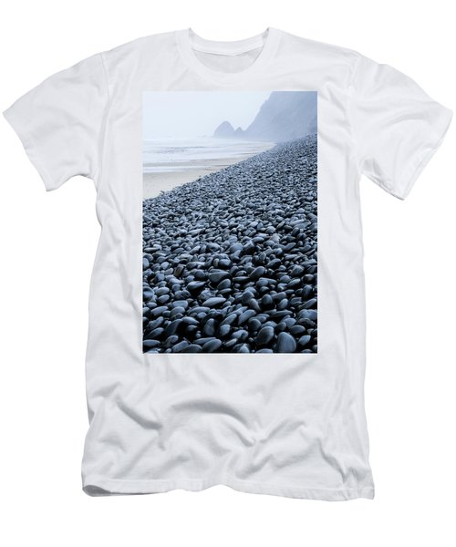 Men's T-Shirt (Athletic Fit) featuring the photograph Rocky Falcon Cove by Tim Newton
