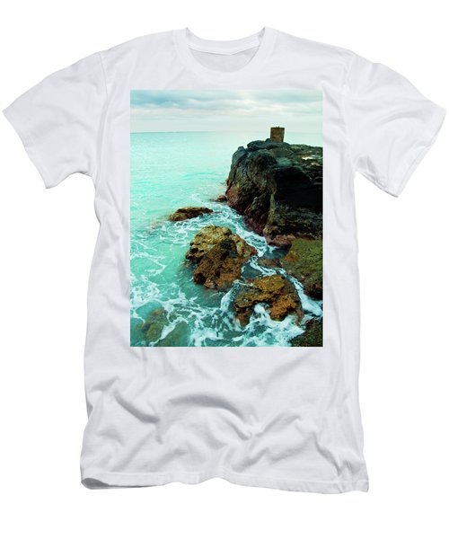 Rocky Landing Men's T-Shirt (Athletic Fit)