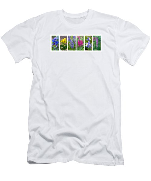 Rocky Mountain Wildflower Collection Men's T-Shirt (Athletic Fit)