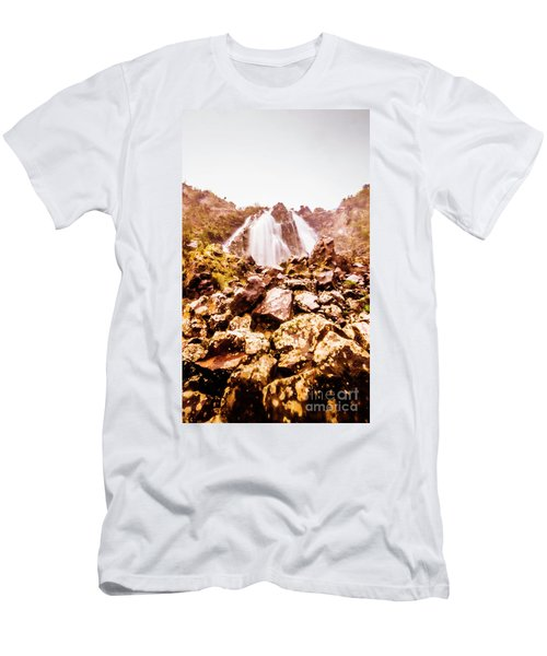Rocky Water Wilderness Men's T-Shirt (Athletic Fit)