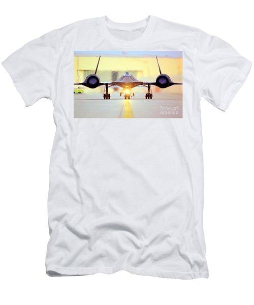 Roger That - Sr71 Jet Men's T-Shirt (Athletic Fit)