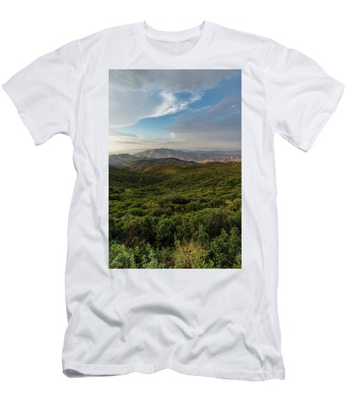 Rolling Hills Of Chaparral Men's T-Shirt (Athletic Fit)