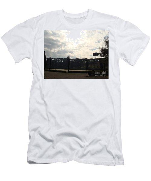 Roma, Villa Borghese Men's T-Shirt (Athletic Fit)