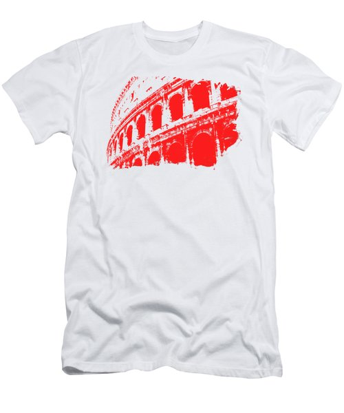 Roman Colosseum View Men's T-Shirt (Athletic Fit)