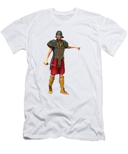 Roman Legionary 1st Ad T-shirt Men's T-Shirt (Athletic Fit)