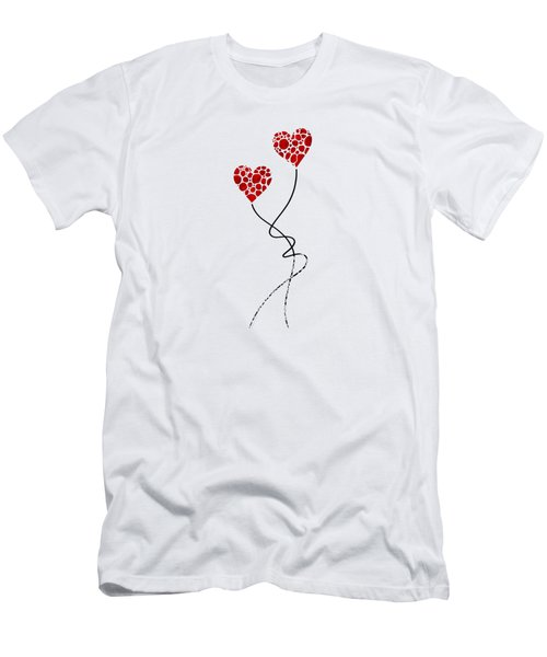 Romantic Art - You Are The One - Sharon Cummings Men's T-Shirt (Athletic Fit)