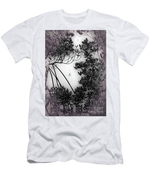 Men's T-Shirt (Athletic Fit) featuring the photograph Romantic Spider by Megan Dirsa-DuBois