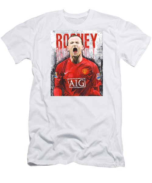 Rooney Men's T-Shirt (Slim Fit) by Jeff Gomez